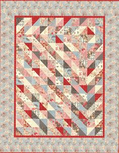 "Moda 3 Sisters Papillon Fat Eighths Quilt Kit 67"" x 80"" (seen on Hancocks Paducah site)"