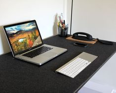Are you getting tired of your desktops look and feel? Maybe youve collected some scratches and dings on your desk surface or perhaps youre an audiophile and want to minimize sound reflections from your work surface. Heres a fun DIY project with FLOR tiles that will create a new look and feel for your workspace.