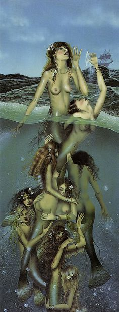 THE CALL OF THE SIRENS BY DAVID DELAMARE