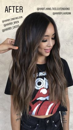 30 unique sun kissed brunette hair color ideas for 2019 024 – Hair – Hair is craft Brown Hair Balayage, Brown Blonde Hair, Hair Color Balayage, Hair Highlights, Subtle Highlights, Brown Highlights On Black Hair, Hair Color Ideas For Brunettes Balayage, Lowlights For Black Hair, Dyed Hair Brown