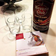Tanti Auguri! W zio hihihi #havana #cacao #dark #chocolate #domori #short