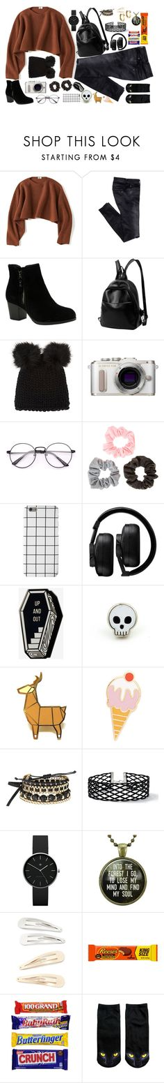 """Christmas Carols and Halloween Candy"" by bill-board ❤ liked on Polyvore featuring Uniqlo, Skechers, Barneys New York, PL8, Master & Dynamic, Georgia Perry, Avon, Miss Selfridge, Newgate and Kitsch"