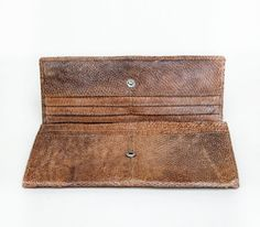 Bungalow Pancake Leather Wallet by TheKhogyStore on Etsy, €200.00