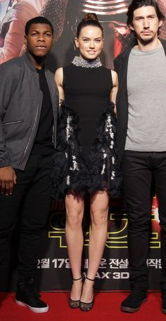 "Daisy Ridley - ""Star Wars: The Force Awakens"" Fan Event - Giambattista Valli"