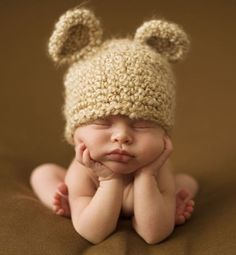 Remember those ears - Inspiration for Precious Newborn Photos - Photos