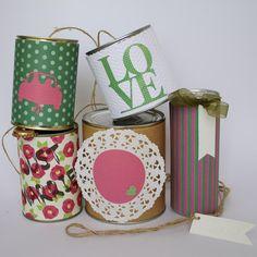 Wedding Cans DIY – Autoschmuck Dosen zur Hochzeit von deborina auf DaWanda.com