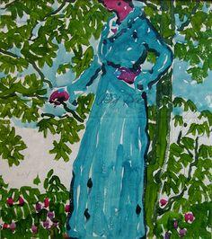 David Milne, (January was a Canadian painter, printmaker, and . Canadian Painters, Canadian Artists, David Milne, Red Tree, Types Of Art, American Art, Painting & Drawing, Printmaking, Illustrators