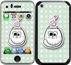 iPhone 3 / 3GS için Ozi Mutlu Kedi Kapak