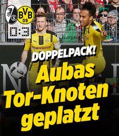 Freiburg - Dortmund http://www.bild.de/bundesliga/1-liga/saison-2016-2017/spielbericht-sc-freiburg-gegen-borussia-dortmund-am-22-Spieltag-46927106.bild.html