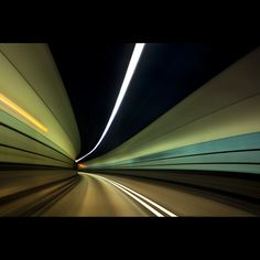 Cool pic of a tunnel. I love this type of stuff.