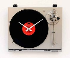 This record-player clock. | 33 Things That Belong In Every Music Lover's Home