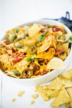 Tex Mex, Street Food, Cheddar, Thai Red Curry, Healthy Recipes, Healthy Food, Salsa, Bbq, Baking