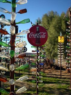 Elmer Long's Bottle Tree Ranch - Oro Grande, CA on Route 66