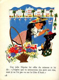 Le voyage de¨Pipo, une histoire, une chanson, des jeux images de Pierre Probst; collection Gentil Coquelicot, Hachette 1975