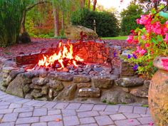 If you have any idea for a fire pit we can help make it work!