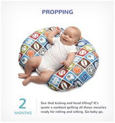 The boppy pillow has been an essential tool in helping the baby view her surroundings from a whole new perspective.