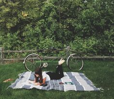 What are your plans for the weekend? How does a #bike ride + picnic + book sound?