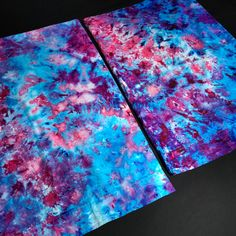 Set of 2 Tie Dye Pillowcases - Tie Dye Pillowcase - Pink, Blue Cotton Candy Ice Dye Pillowcases - Cu Tie Dye Bedding, Bedding Shop, Neon Rainbow, Rainbow Colors, Tie Dye Sheets, Blue Cotton Candy, Tie Dye Tapestry, Toddler Pillowcase, Tie Dye Crafts