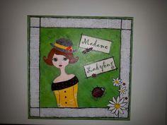 Madame Ladybug   16x16
