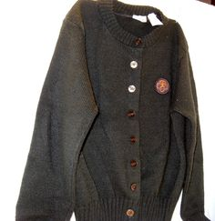 Brownie Girl Scout Sweater Size 12 by HometownVintage on Etsy, $26.00
