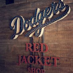 Dodgers by Sideshow Sign Co., Nashville, TN