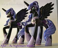 Okay that is just gorgeous...even if I hate Nightmare Moon!