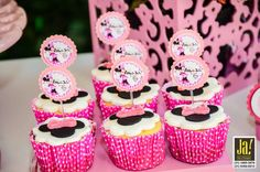 Cup cakes Minie Rosa