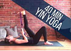 Yin Yoga Full Body Stretch 40 min Class - Flexibility & Relaxation. ** Look into even more by going to the picture link