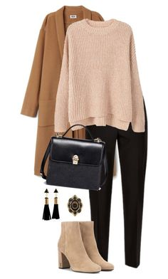 """Untitled #2867"" by carmelaromio on Polyvore featuring Jaeger, MANGO, Yves Saint Laurent and Gucci"