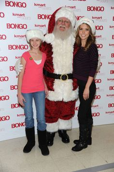 Audrina Patridge Photos Photos - Television Personality and Bongo spokeperson Audrina Patridge  (right) poses with Santa and Chase Burch, representing St Jude Children's reseach Hospital  at Kmart Store In Burbank where she hosted a private shopping spree in aid of St Jude Children's Research Hospital on December 1, 2010 in Burbank, California. - Audrina Patridge Makes A Special Appearance At The Kmart Store In Burbank