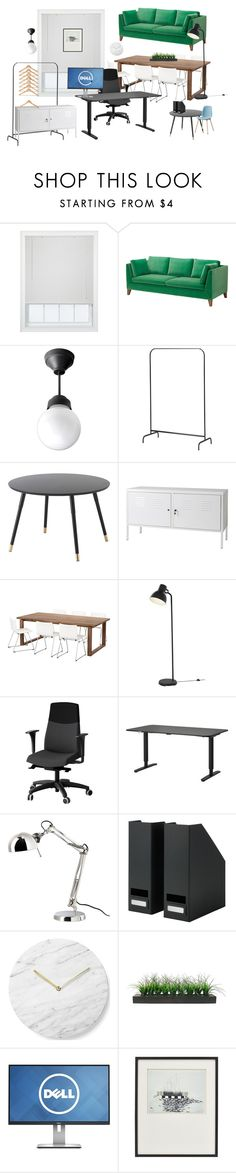 """office 2"" by artforma on Polyvore featuring interior, interiors, interior design, home, home decor, interior decorating, JCPenney Home, Menu, Vintage and Crate and Barrel"