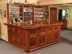 Inspiring Custom Home Bar Furniture