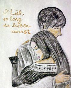 Ludwig und Hanna  (Watercolour on Paper by Josephine Widya Wijaya, 2013)