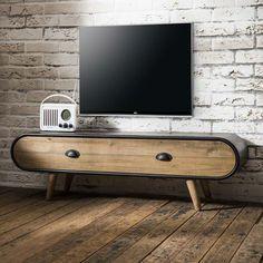 Tv bank holz vintage  TV-Möbel im Vintage-Stil aus Mangoholz, B 165 cm   Projects to Try ...