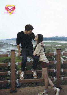 fуєαн유라 — JJongAh Couple Photobook by carlos yura (fyyura. Wgm Couples, Celebrity Couples, Cute Couples, We Got Married Couples, We Get Married, Hong Jong Hyun, Jung Hyun, Korean Couple, Best Couple