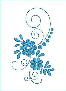 Border Embroidery Designs, Floral Embroidery Patterns, Hand Embroidery Flowers, Crewel Embroidery, Free Machine Embroidery, Quilting Designs, Beading Patterns, Fabric Painting, Flower Designs