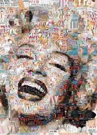 collage pop art marilyn - Buscar con Google