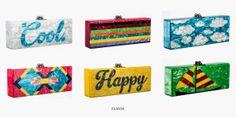 God Save the Queen : Brett Heymann diseña los bolsos para la firma Edie... #bags #edieparker #ss14