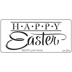 Dreamweaver Metal Stencil - Happy Easter