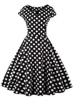 #Valentines #AdoreWe #Oasap.com - #Roawe Women's Stripe Floral Embroidery A-line Swing Dress - AdoreWe.com