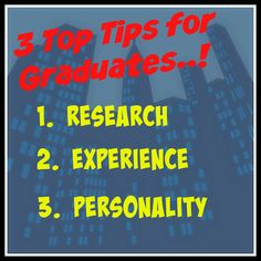 Top 3 Tips for graduates looking to break into medical sales #jobsearch #jobadvice #graduatejobs #medicalsales