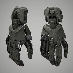 Throwback to an old design I did way back in 2013 and somehow never posted. Did it for Jonathan Berube's project BerubeFilms using XSI and… Robot Concept Art, Armor Concept, Weapon Concept Art, Arte Robot, Robot Art, 3d Mode, Arte Cyberpunk, Cyberpunk Character, Futuristic Technology