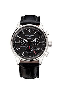 Jorg Gray JG6500-44NC Mens Swiss Chronograph Watch Jorg Gray