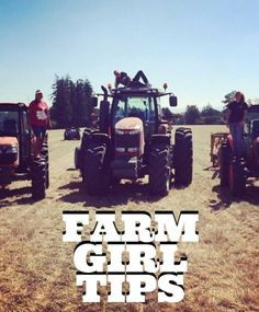 Here are some fabulous farm girl tips to help you out whether  you are new to farming or just need a little reminder.