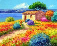 Jean Marc Janiaczyk, 1966 ~ Realist/Impressionist painter