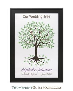 Signature Only Guestbook Tree # 10  Check it out http://thumbprintguestbooks.com/signature-only-guestbook-tree-10/