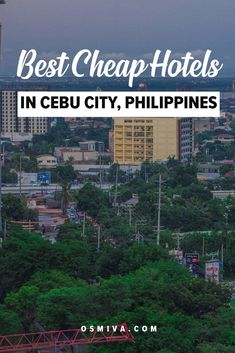 Looking for affordable yet convenient accommodation in Cebu City, Philippines? Here is a list of cheap hotels in Cebu City for budget travelers! Affordable Hotels, Cheap Hotels, Best Hotels, Top Travel Destinations, Travel Tips, Cebu City, Local Tour, Travel Articles, Ultimate Travel