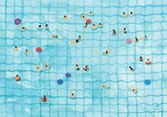 Kunstdruck von meinen original Aquarell - Swimming Pool auf strukturierten 300gsm Papier Signiert und datiert  Ca. Maße: • Print/Papierformat ist 15 x 21 cm •  Druck kommt mit Karte Schutzträger und innen Cellophan Schutzhülle. Paket wird mit stabilen Karton um Schäden bei der Anlieferung nicht gebucht werden.  Einmaliges Geschenk für Hochzeitsgeschenk oder ein Abschiedsgeschenk. Oder ein entspannendes Stück Kunstwerk für Ihr Zuhause zu erinnern, der Sommer und im Urlaub Sonnenbaden am Pool.