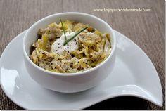 recette de fondue de poireaux