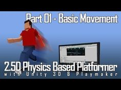 (9) 2D Physics Platformer with Unity and Playmaker part 1 - Basic Movement - YouTube